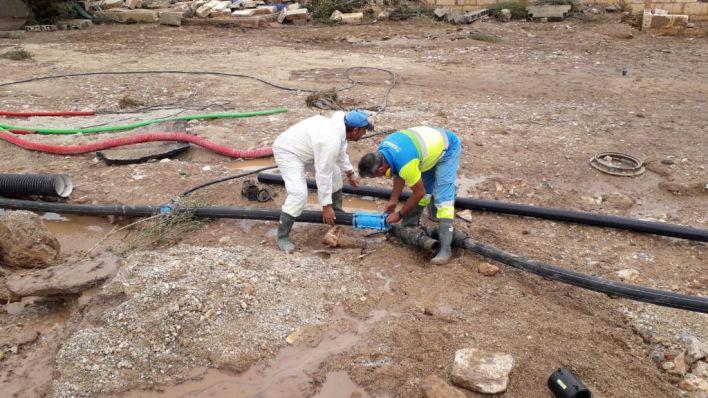 Sant Llorenç recuperará en abril el servicio de agua potable arrasado por la torrentada
