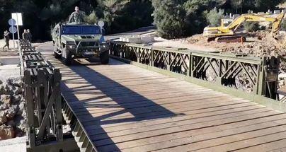 El Ejército inicia el desmontaje del puente instalado en Artà tras las lluvias del Llevant