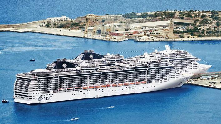 MSC hará este año 102 escalas en Palma con más de 330.000 cruceristas