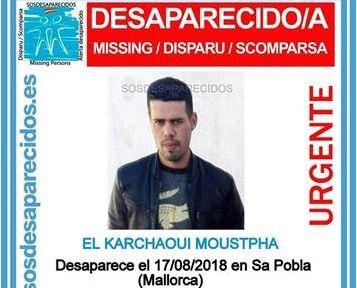 Se busca por un atraco en Sa Pobla al sospechoso de una desaparición