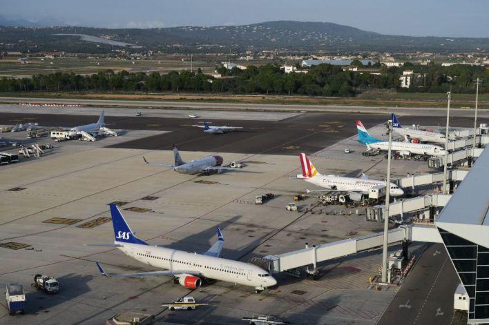 El tráfico aéreo controlado desde Palma se dispara un 17 por ciento hasta 2023