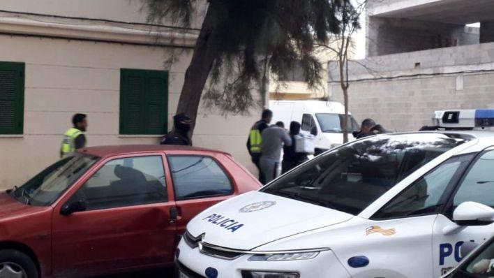 Redada antidroga en la barriada Verge de Lluc en Palma
