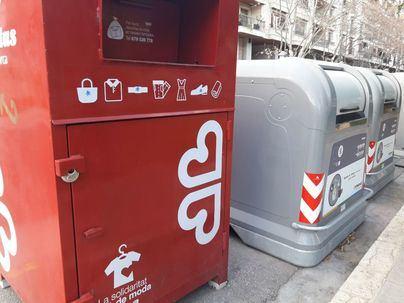 Eines x inserció de Cáritas ha recogido 990 toneladas de ropa en Mallorca