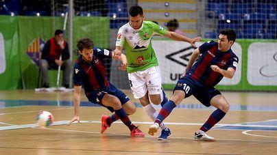 El Palma Futsal logra plaza para el playoff tras un contundente victoria (6-0)