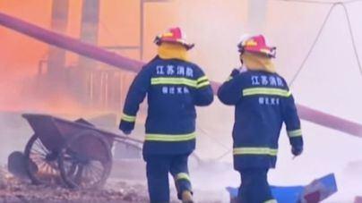 Los fallecidos por una explosión en China superan ya los 60