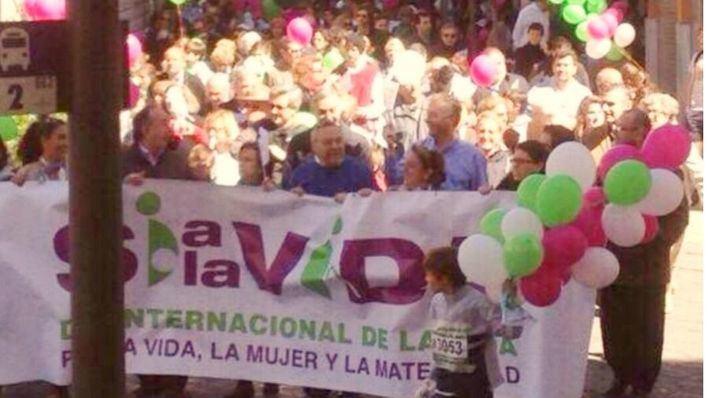 IBFamilia participa en la manifestación por el Día de la Vida