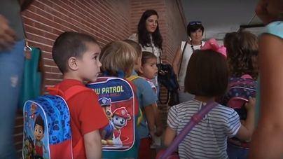 Este lunes comienza la admisión de alumnos que se incorporan al sistema educativo