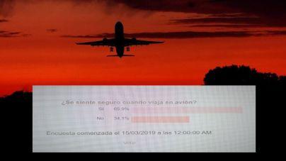 Seis de cada diez lectores se siente seguro cuando viaja en avión