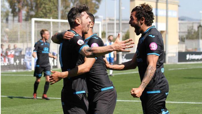 El Atlético Baleares afianza su liderato tras vencer 0-2 al Espanyol B