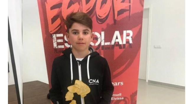 Marc Mesquida, campeón absoluto de las Finales Escolares de Optimist