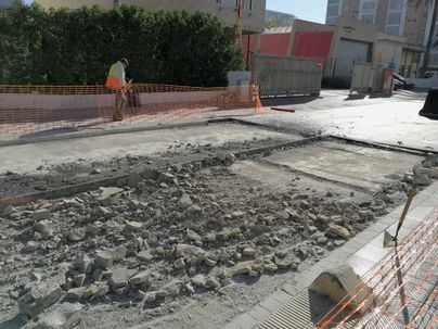 Arrancan las obras de Playa de Palma con gran parte de los hoteles abiertos