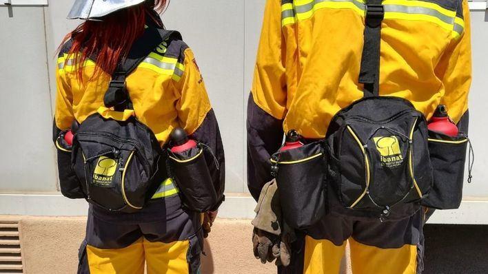 Incendio en el Camí des Rost en Sóller