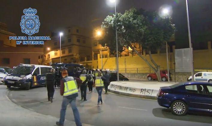 Desarticulada una organización dedicada al tráfico ilegal de migrantes marroquíes