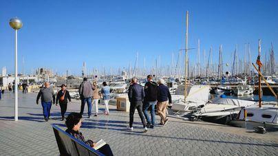 Viento y temperaturas en descenso en Baleares