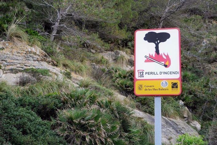 Suspendidas las autorizaciones de fuego en Mallorca y Menorca