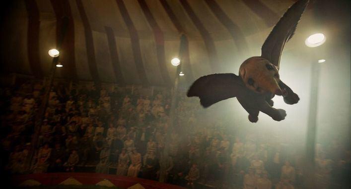 'Dumbo' se vuelve real este viernes de la mano de Tim Burton