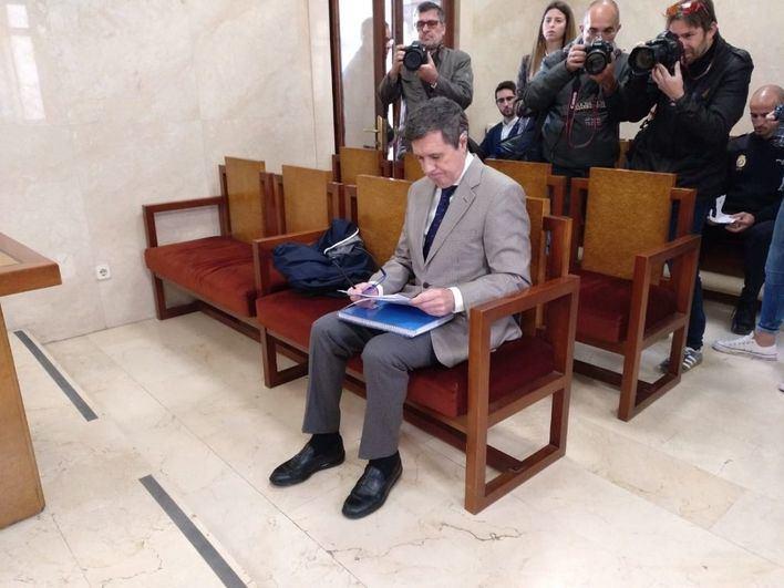 La Fiscalía mantiene su petición de cinco años de cárcel a Matas
