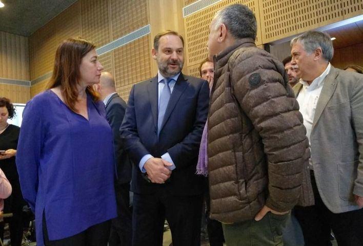 Ábalos dice en Palma que la Administración debe materializar el derecho a la vivienda