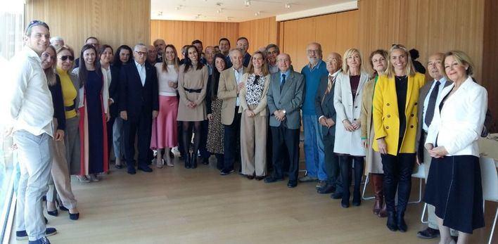 Los hoteleros de Playa de Palma homenajean a Francisco Marín