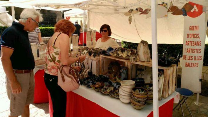 Arranca la VIII edición del mercado artesanal de s'Hort des Rei