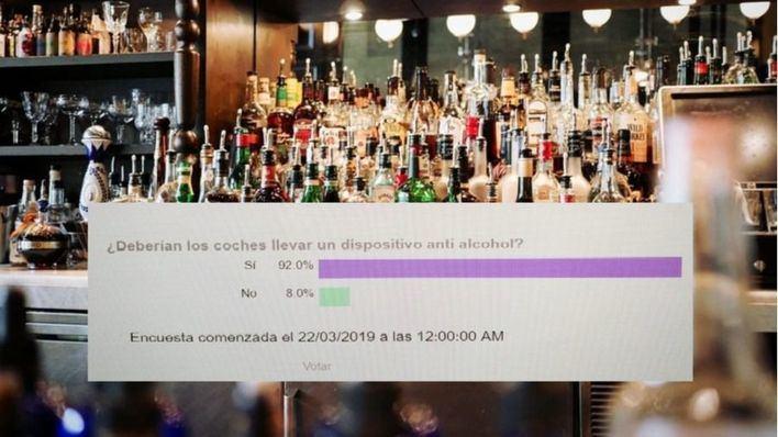 Nueve de cada diez lectores a favor de que los coches lleven un sistema antialcohol