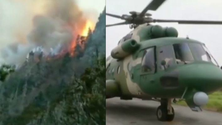 30 bomberos mueren en un incendio forestal en China