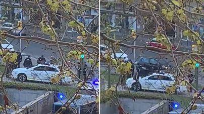 Reducido tras enfrentarse con dos cuchillos a la Policía de Palma