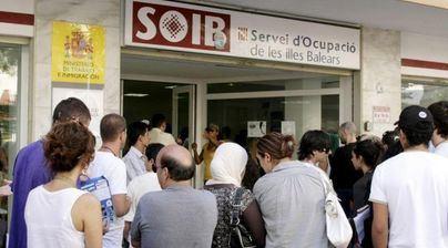 El paro en Baleares sube en marzo en más de 1.000 personas con respecto a 2018