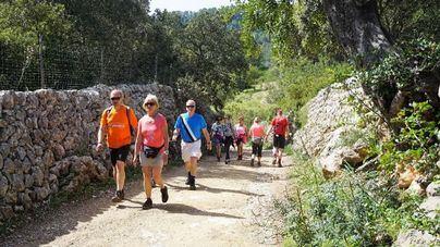 La Mallorca Walking Event acoge en Calviá a más de 700 senderistas de toda Europa