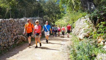 Más de 700 senderistas europeos se citan en Calvià en el Mallorca Walking Event