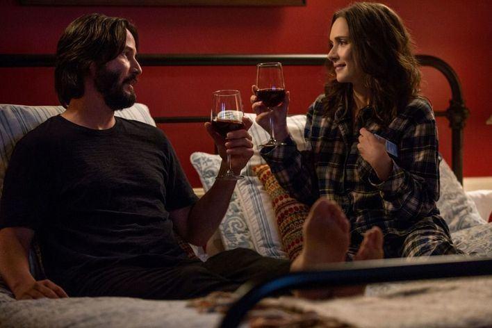 Winona Ryder y Keanu Reeves protagonizan este viernes 'La boda de mi ex'