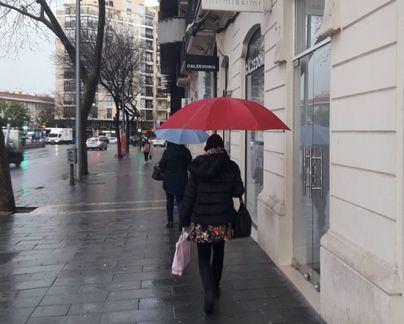 Viernes con precipitaciones débiles por la tarde