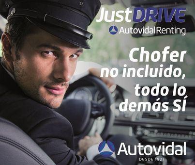 Just Drive, nace el renting de Autovidal