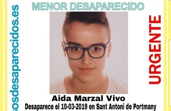 Buscan a una menor desaparecida en Ibiza