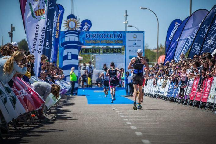 El Triathlon de Portocolom 2019 cuenta con un listados de salida muy potente