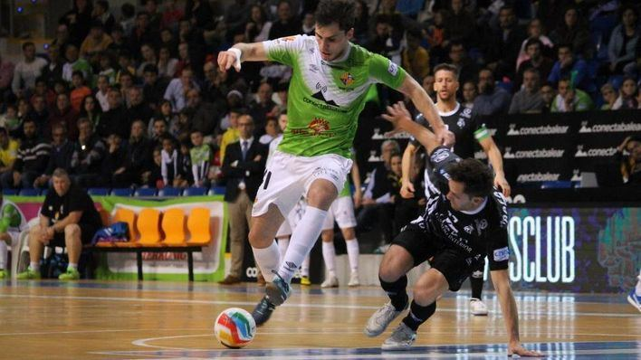 El Palma Futsal vapulea al Jaen Paraíso Interior (8-1)