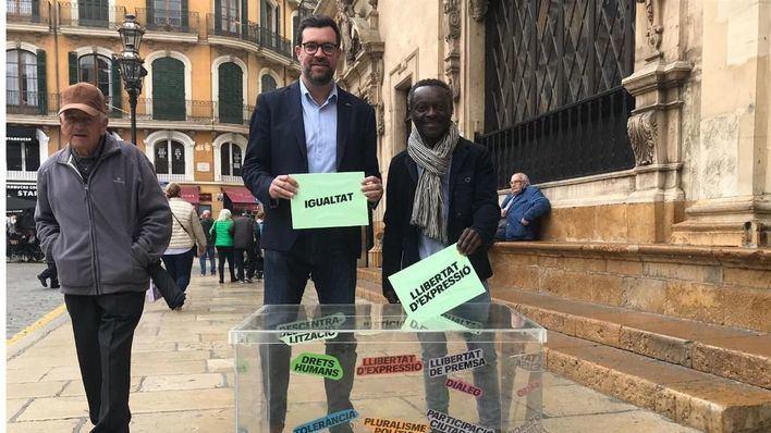 Noguera promete ayudas al alquiler para jóvenes a fin de 'repoblar' el centro de Palma