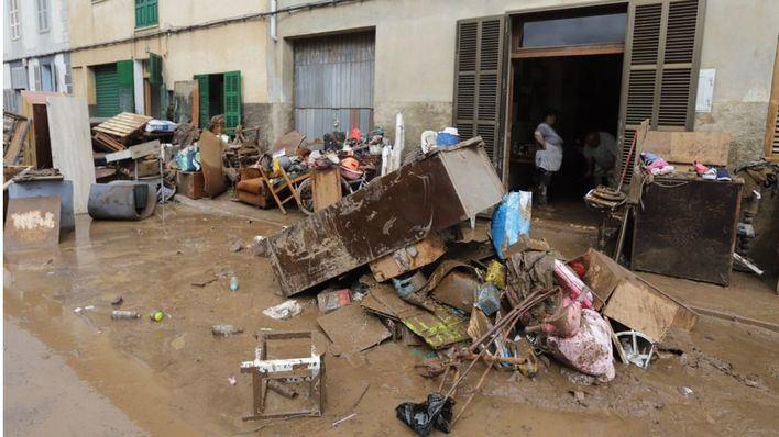 Los recuerdos siguen vivos en Sant Llorenç seis meses después de la riada