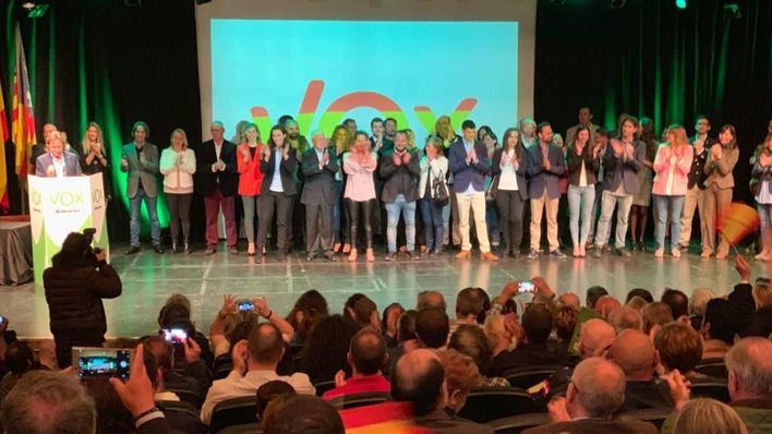 Vox Baleares presenta su lista de candidatos al Parlament balear