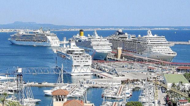 Baleares recibió 2,4 millones de cruceristas en 2018