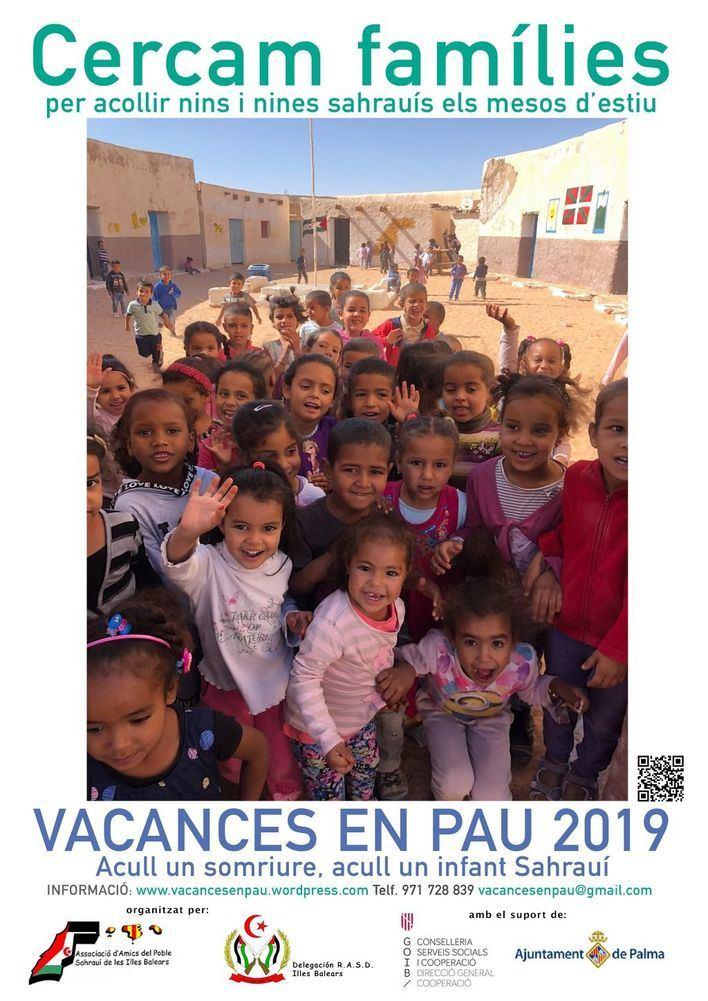 Amigos del Pueblo Saharaui busca familias que acojan a niños refugiados este verano