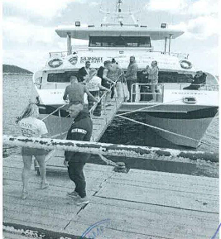 Multa de hasta 1.500 euros por una partyboat en Magaluf