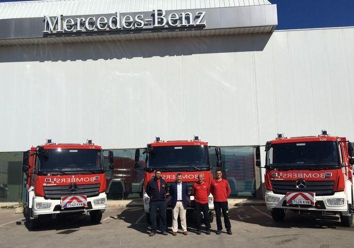 Bombers de Mallorca amplía su flota de camiones en Autovidal