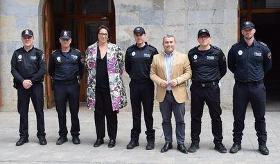 La Policía Local de Inca suma tres nuevos agentes