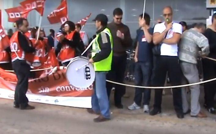 Los sindicatos convocan una oleada de huelgas durante los días de Semana Santa