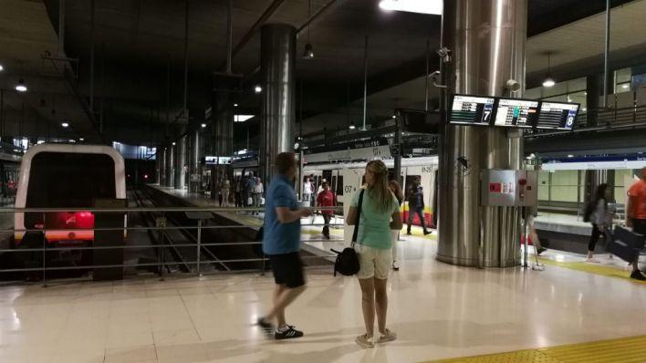 Aumenta un 17 por ciento los usuarios del metro de Palma