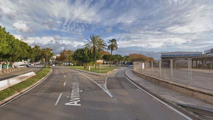 Cortan el tráfico al embarque de mercancías de la curva de Portopí hasta el 10 de mayo