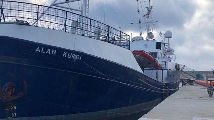 Costa afirma que el barco de refugiados Alan Kurdi no ha pedido atracar en Palma