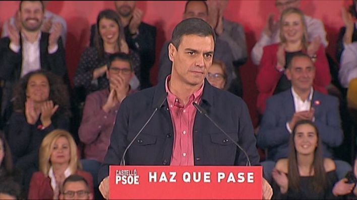 Sánchez pide el voto de los indecisos