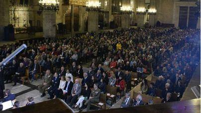 El Concierto de Semana Santa organizado por la Comandancia General de Baleares llena la Seu